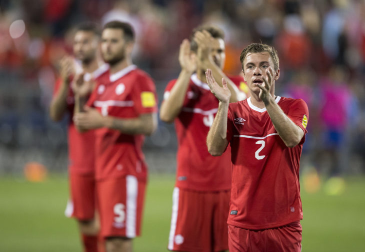 Nik Ledgerwood says he still has plenty left to offer a CPL club. (Canada Soccer)