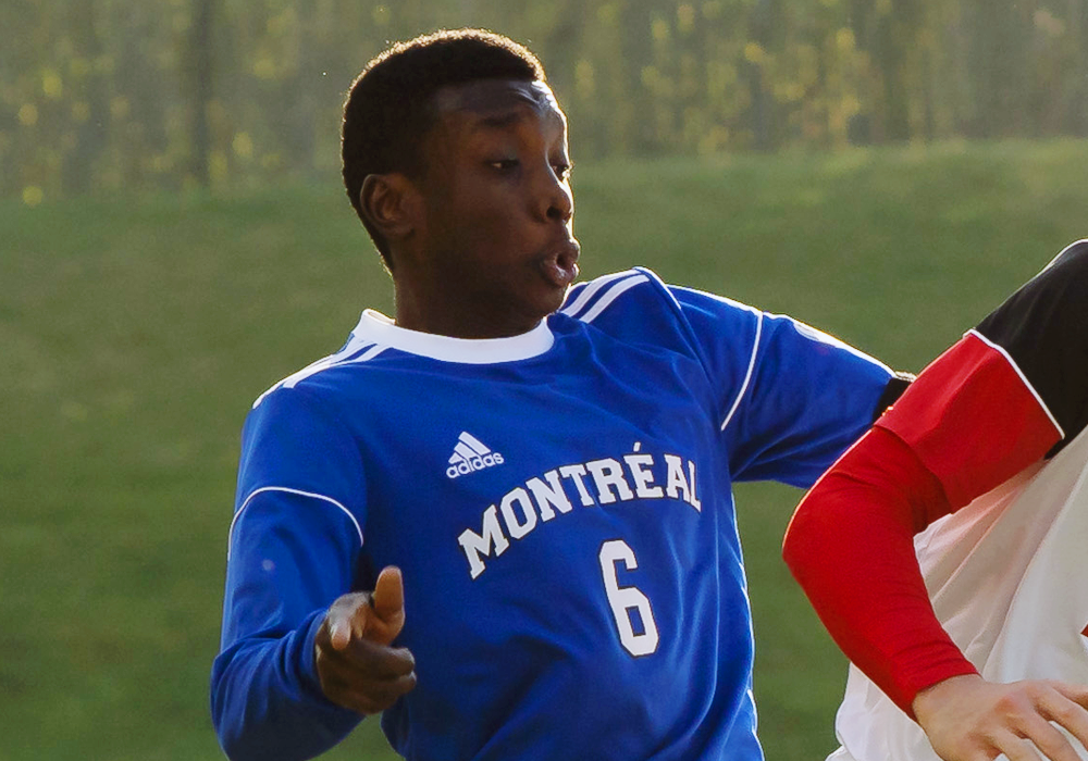 Aboubacar Sissoko during his time with the Montreal Carabins.