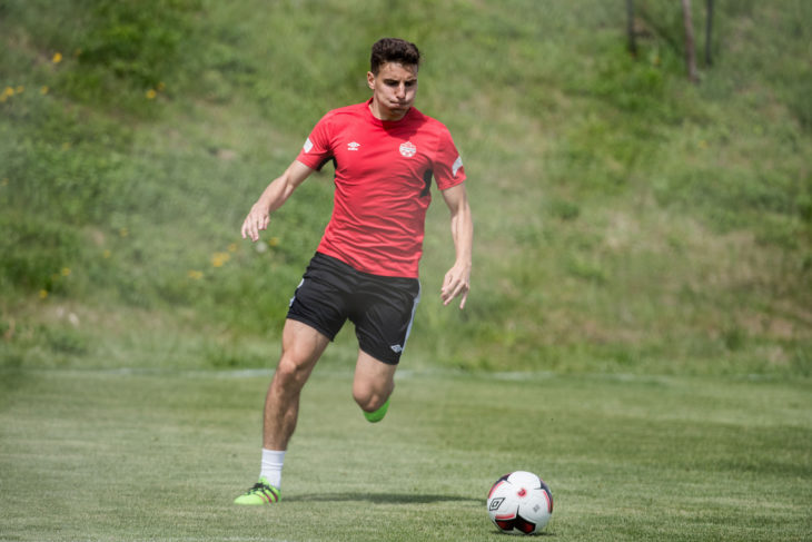 Chris Serban. (Canada Soccer)