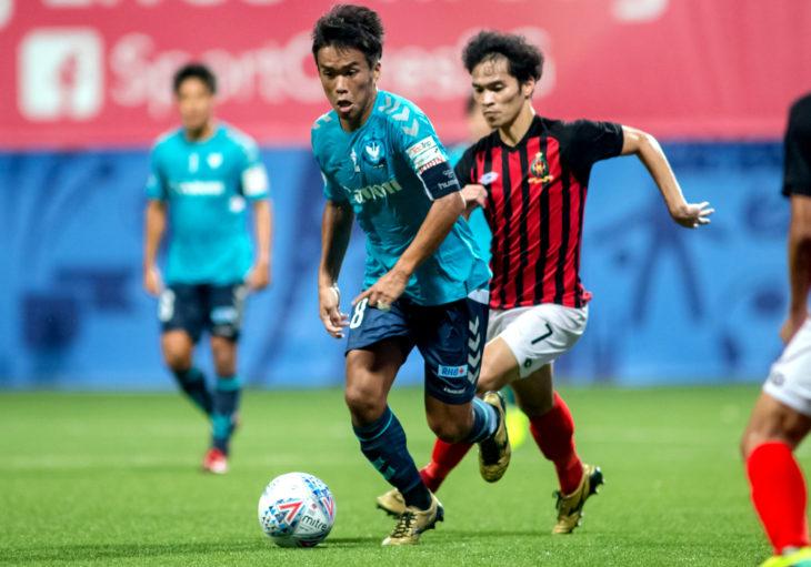 York9 FCs Wataru Murofushi.