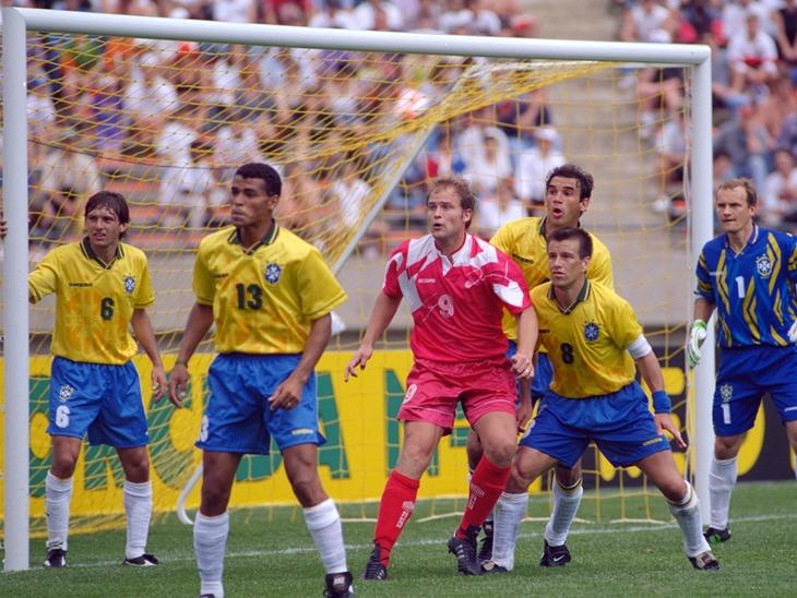 Canada vs. Brazil, 1994. (Canada Soccer).