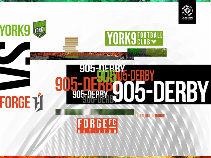 The '905 Derby' will kick off on April 27 at Tim Hortons Field.