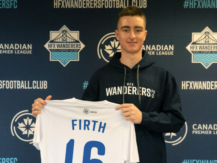 Nova Scotia native Scott Firth (HFX Wanderers)