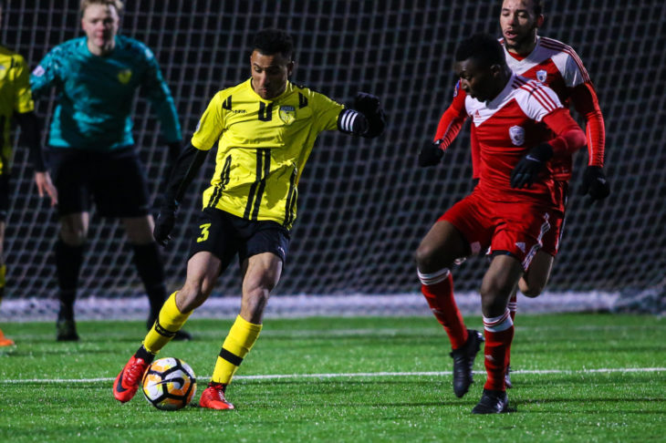Doner played every minute of competitive action for Aurora United in 2018. (F10Sports)