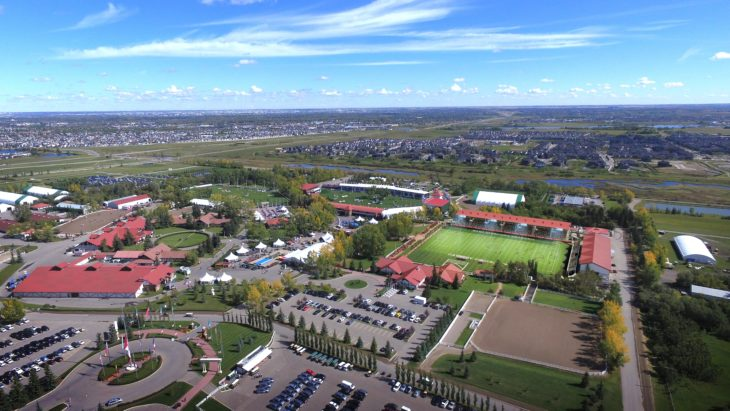 Spruce Meadows is home to Cavalry FC. (CPL)