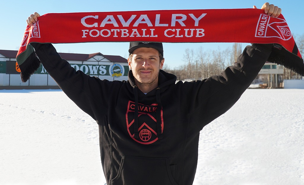 Mason Trafford joins Cavalry FC on Feb. 27, 2019.