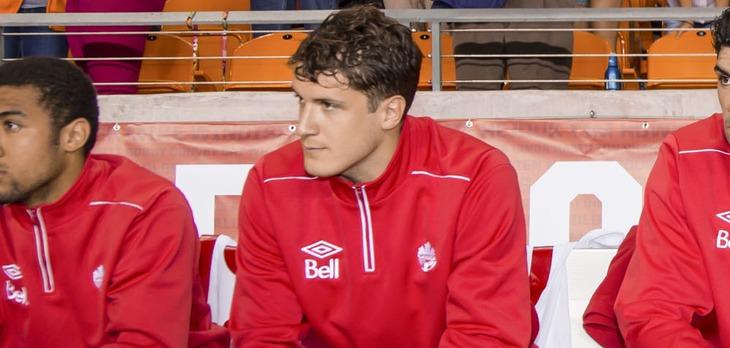 Mason Trafford for Canada in 2013. (Canada Soccer).