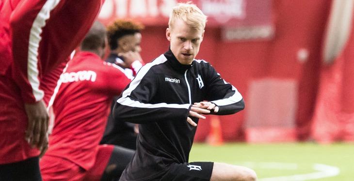 Kyle Bekker. (Forge FC)