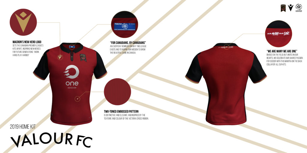 Valour FC's home kit. (Click to view full size).