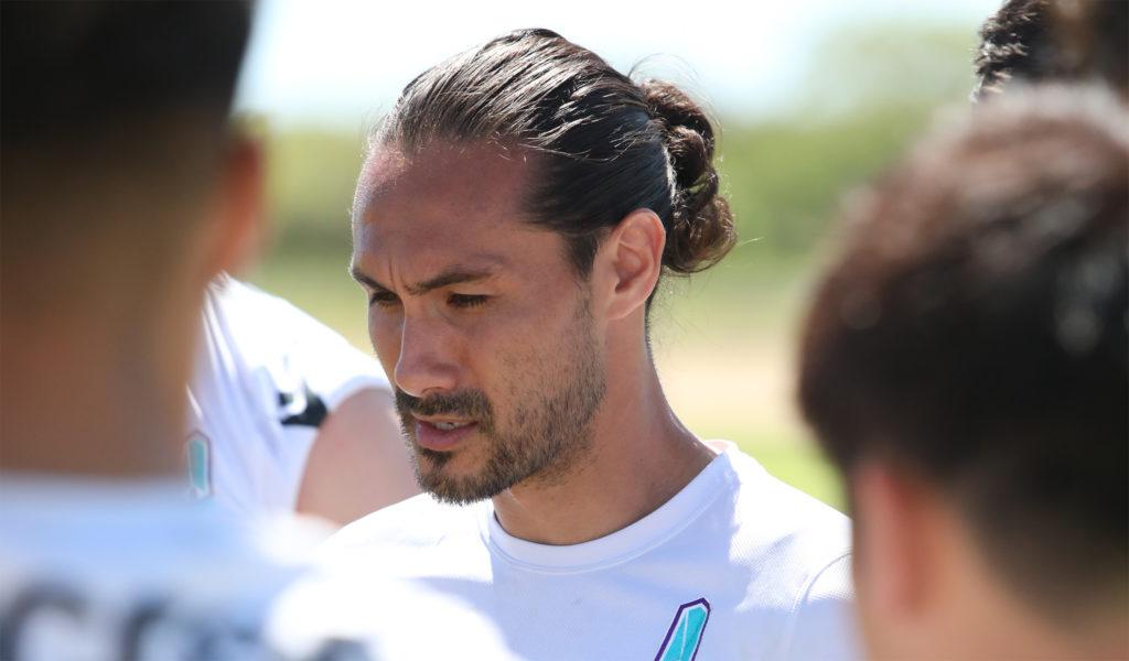 Issey Nakajima-Farran of Pacific FC. (Photo: Nora Stankovic/CPL).