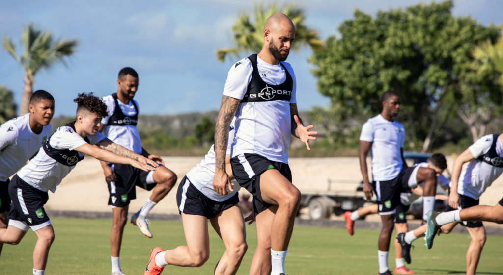 York9 FC players in training down in Punta Cana. (Photo: Nora Stankovic/CPL).