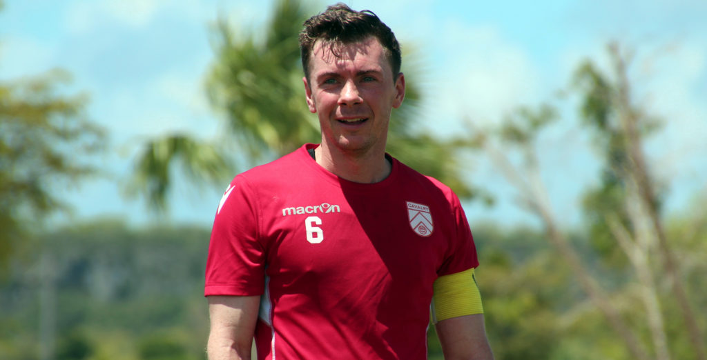 Cavalry FC captain Nik Ledgerwood in Punta Cana. (Photo: Nora Stankovic/CPL).