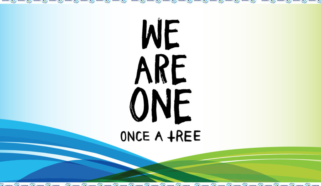 """""""We Are One"""" by Once A Tree, the anthem of the Canadian Premier League. (LISTEN HERE)."""