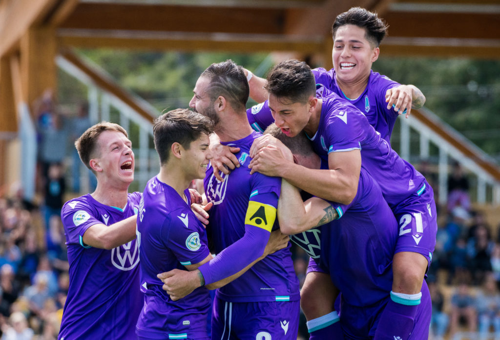 CPL action with Pacific FC vs York9. (Photo: James MacDonald/CPL).