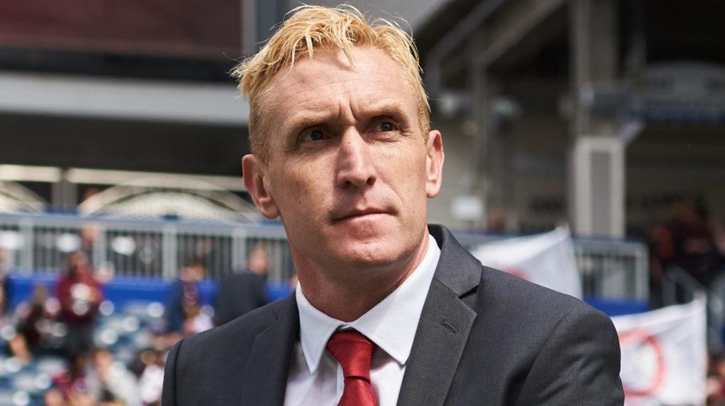 Valour FC head coach Rob Gale. (CPL).