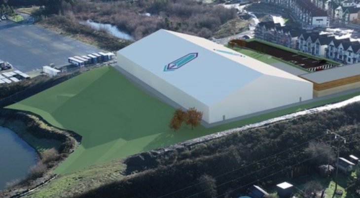 A render of Pacific FC's new field house project. (Photo: Twitter/@PacificFCCPL).