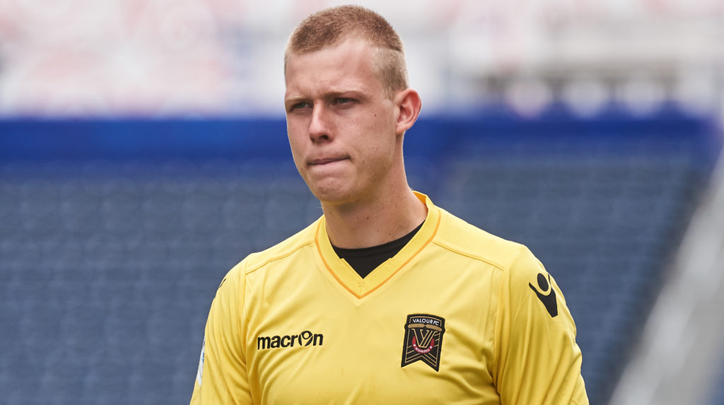 Valour FC goalkeeper Mathias Janssens. (Valour FC)