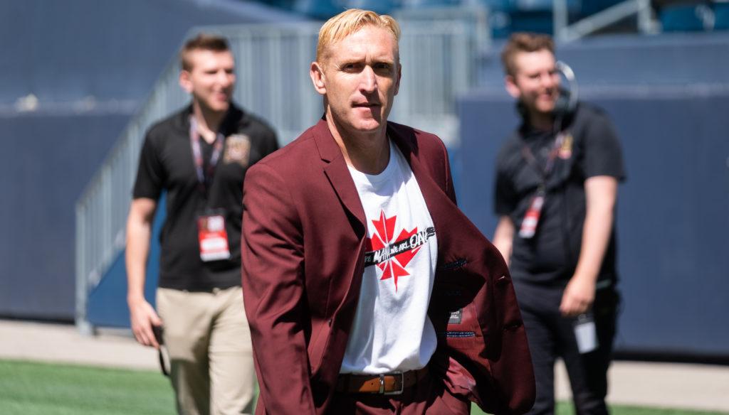Valour FC head coach Rob Gale (Photo: Daniel Crump/CPL).