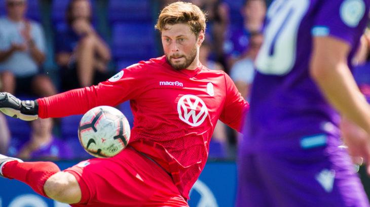Pacific FC goalkeeper Nolan Wirth. (CPL)