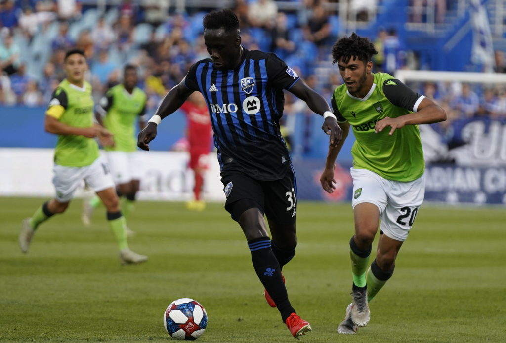Montreal Impact vs. York9 FC in Canadian Championship.