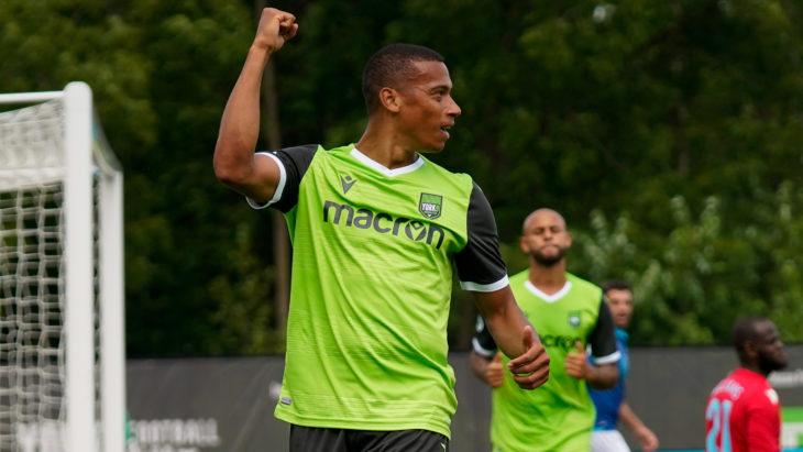 York9 FC's Ryan Telfer. (CPL).