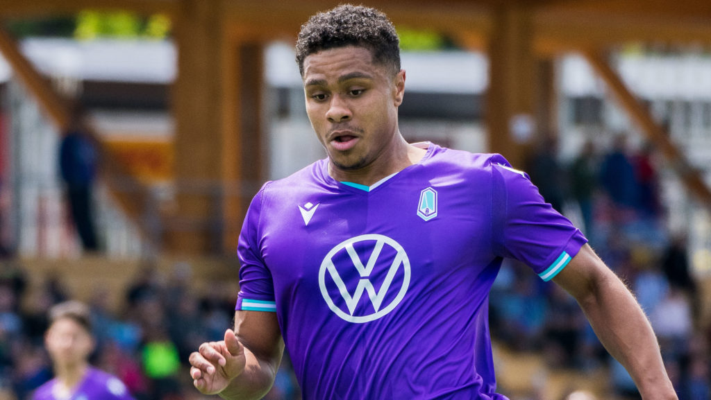 Pacific FC's Terran Campbell. (James MacDonald/CPL).