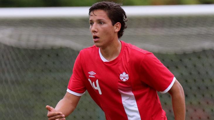 David Norman, Jr. (Canada Soccer/Guillaume Boitiaux).