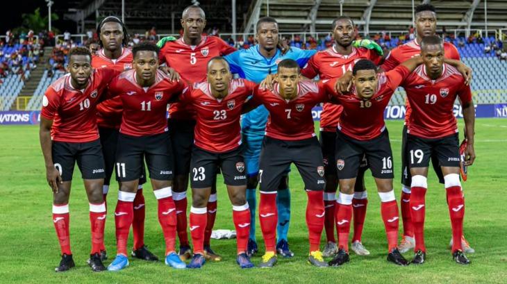 Ryan Telfer (7) in the Trinidad and Tobago lineup. (Photo: CONCACAF).
