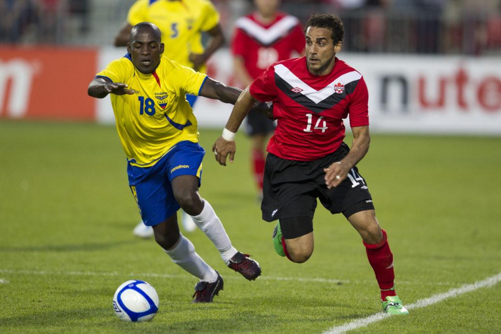 Dwayne De Rosario. (Canada Soccer).
