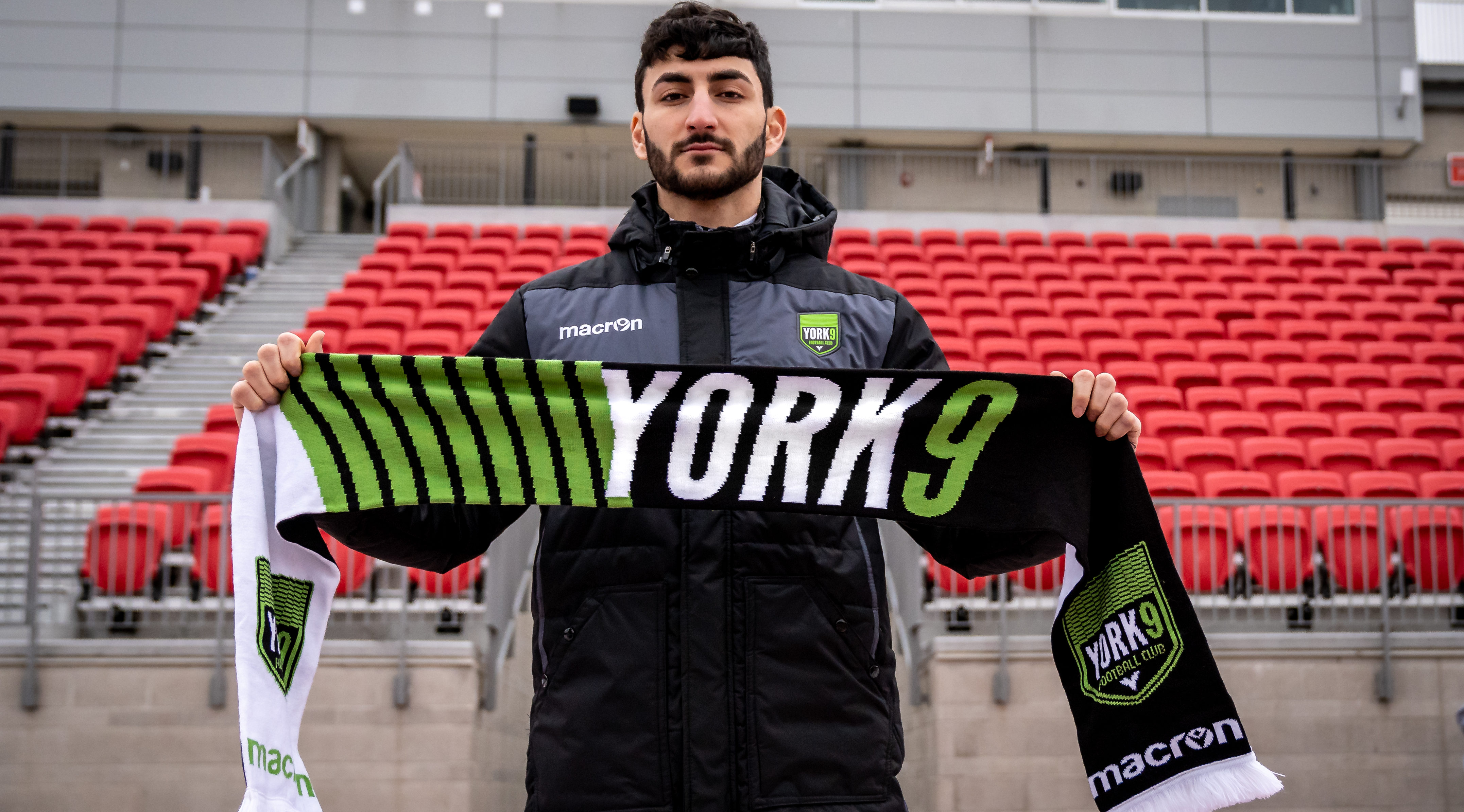 Chris Mannella. (Photo courtesy of York9 FC)