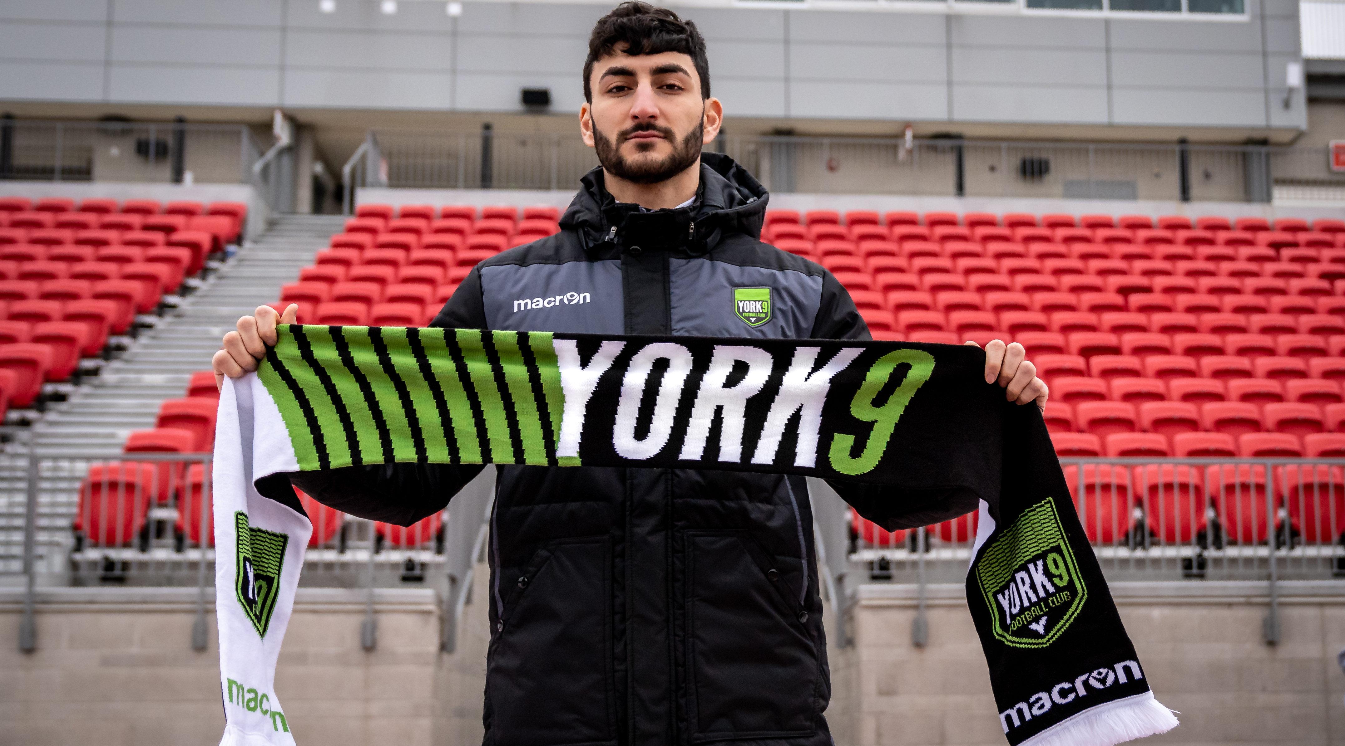 Chris Mannella. (Photo courtesy of York9 FC)