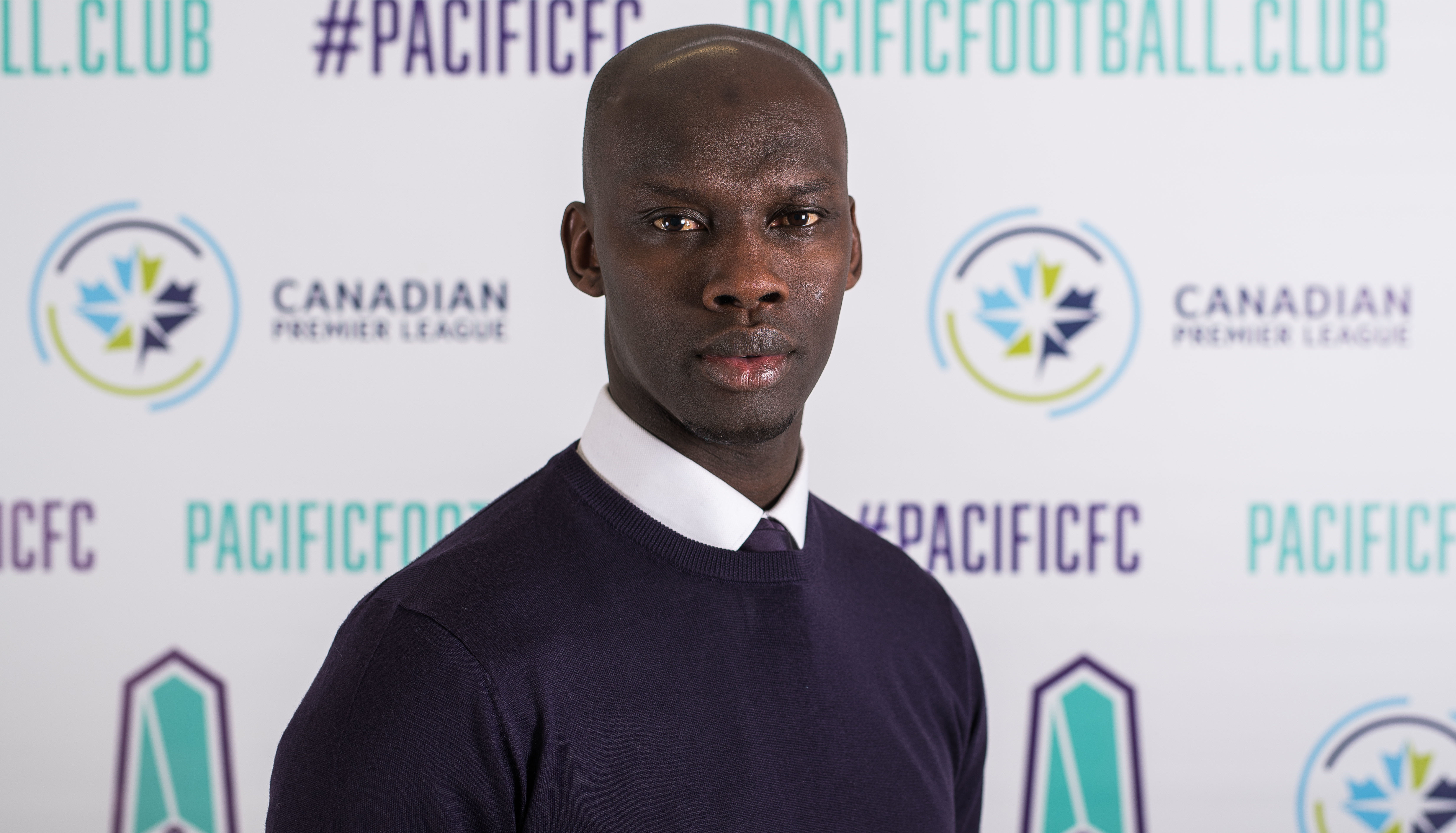 Pa-Modou Kah joins Pacific FC as head coach ahead of the 2020 CPL season. (Photo: Pacific FC).