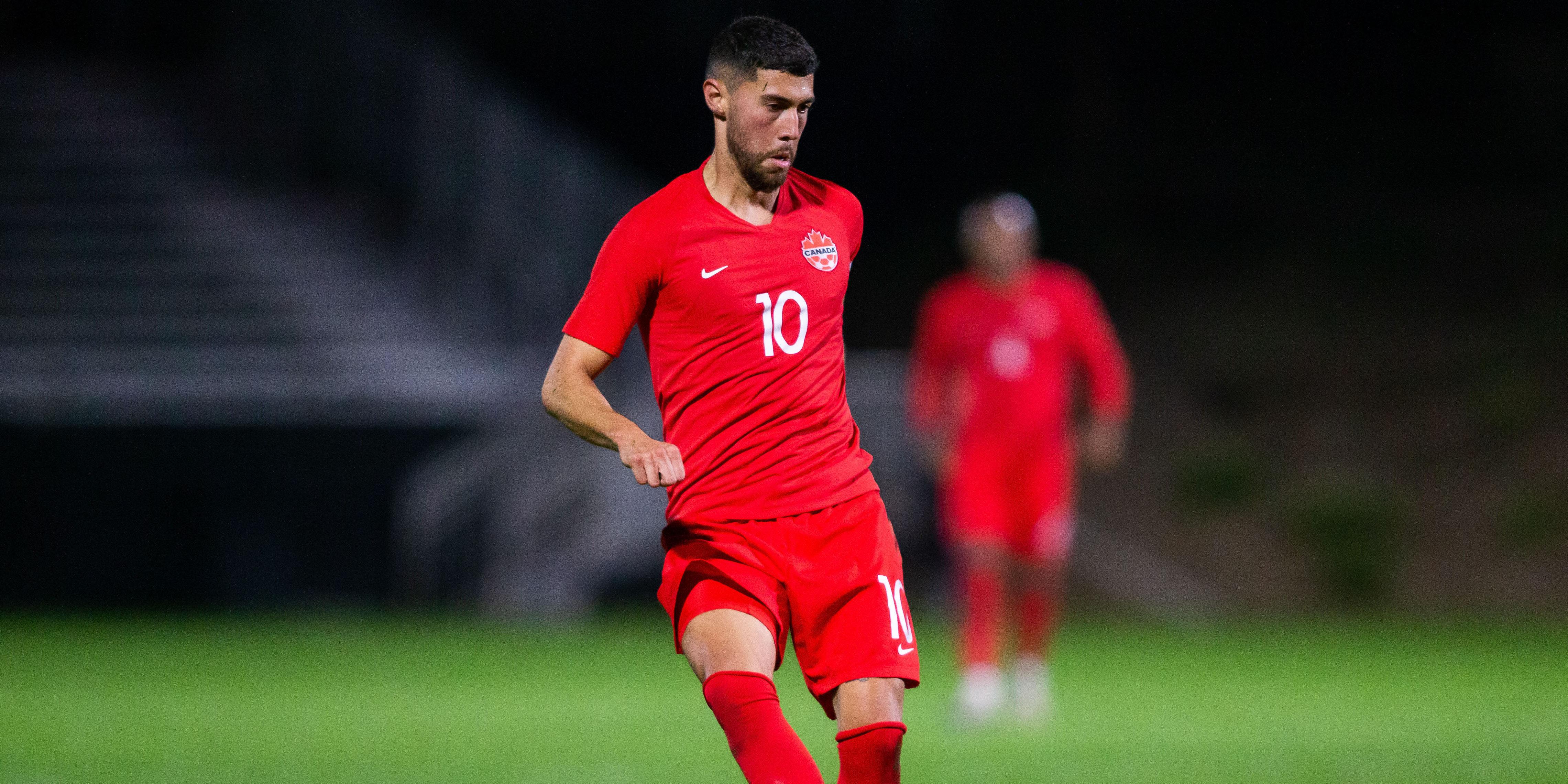 Men's International Friendly 10 January 2020 - Irvine, CA, USA Canada Soccer by Liza Rosales Jonathan Osorio
