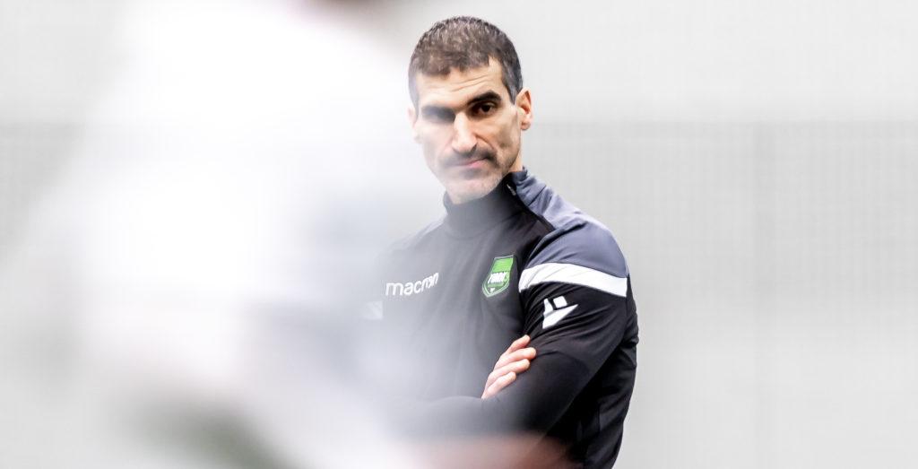 Paul Stalteri, York9 assistant coach. (Photo: David Chant/Chant.ca).