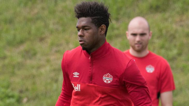 Brandon John. (Canada Soccer/Martin Bazyl)