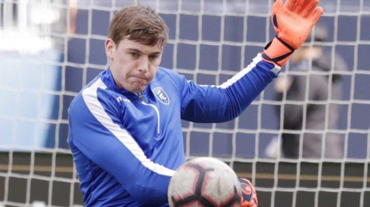 FC Edmonton goalkeeper Connor James. (James Carey Lauder-USA TODAY Sports for CPL).