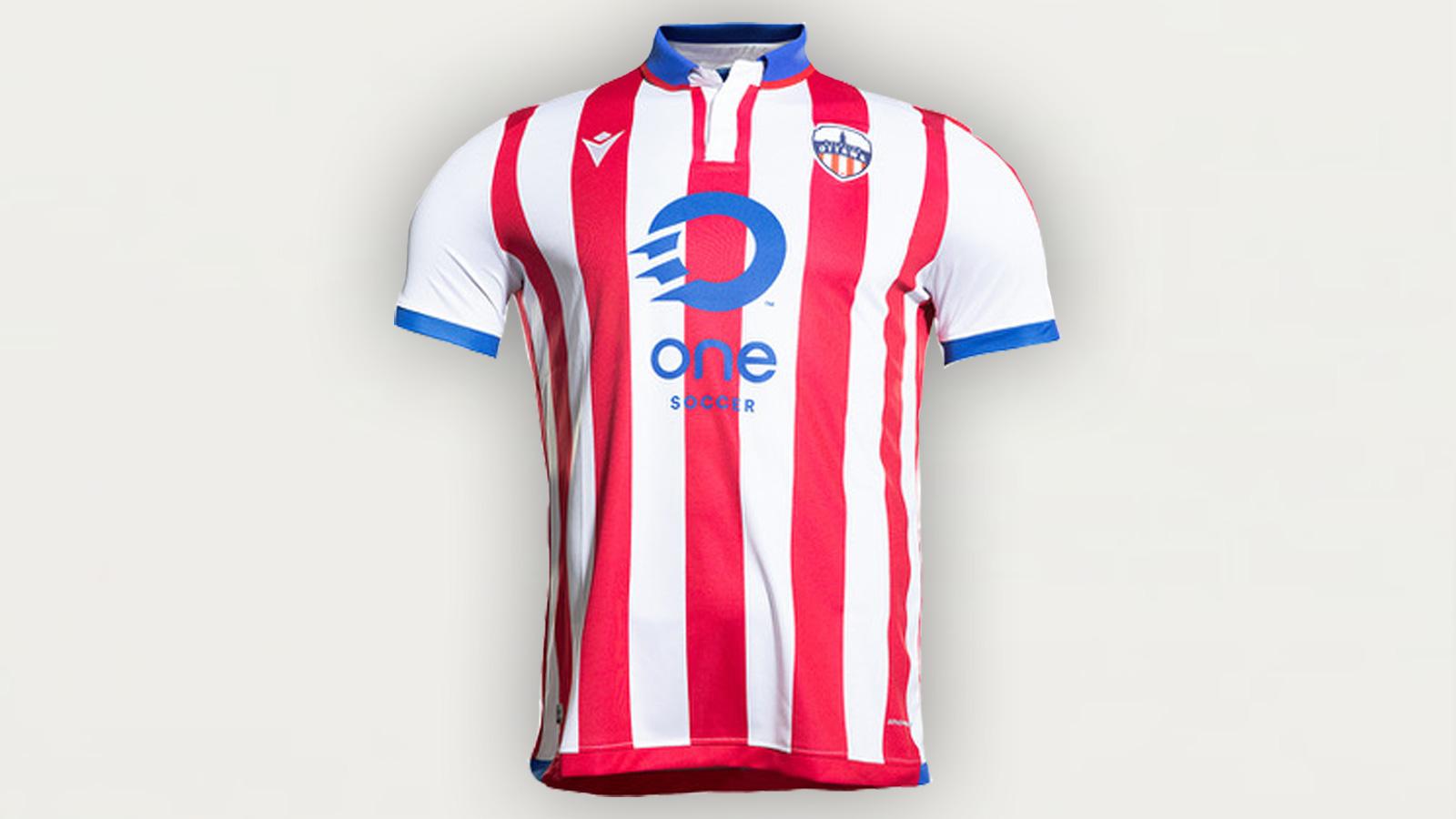 2020 Atlético Ottawa home kit (CPL)