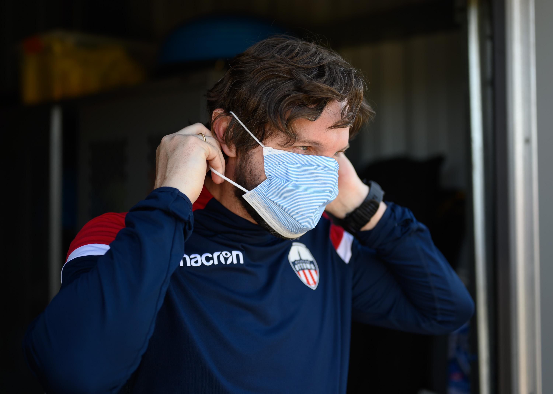 Atlético Ottawa coach Mista. (Matt Zambonin/Freestyle Photography)