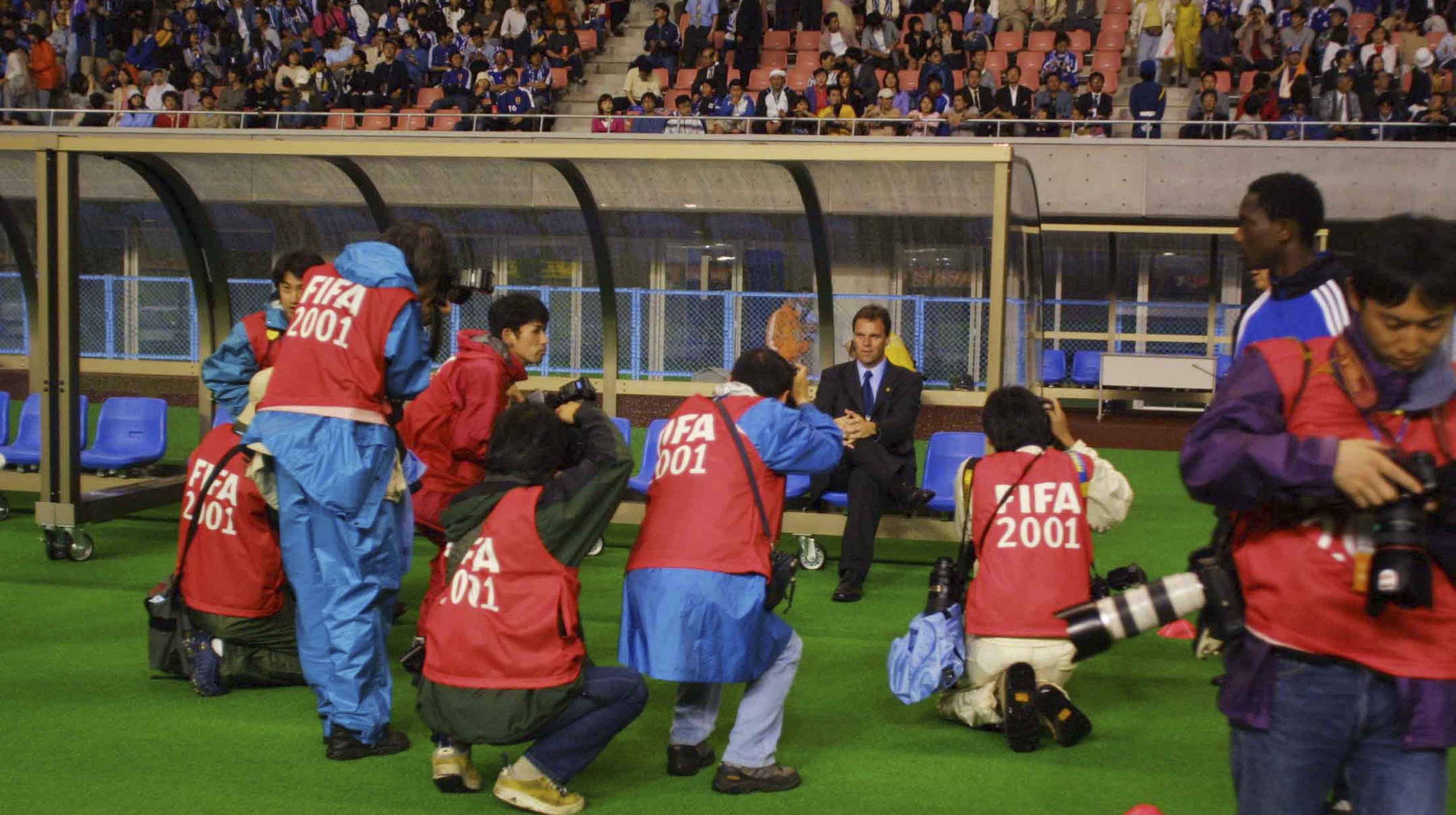 2001 FIFA Confederations Cup Canada Soccer / Dale MacMillan Holger Osieck