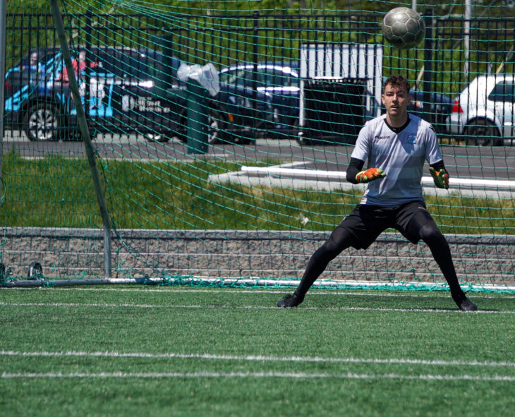 Goalkeeper Jason Beaulieu (HFX Wanderers FC photo)