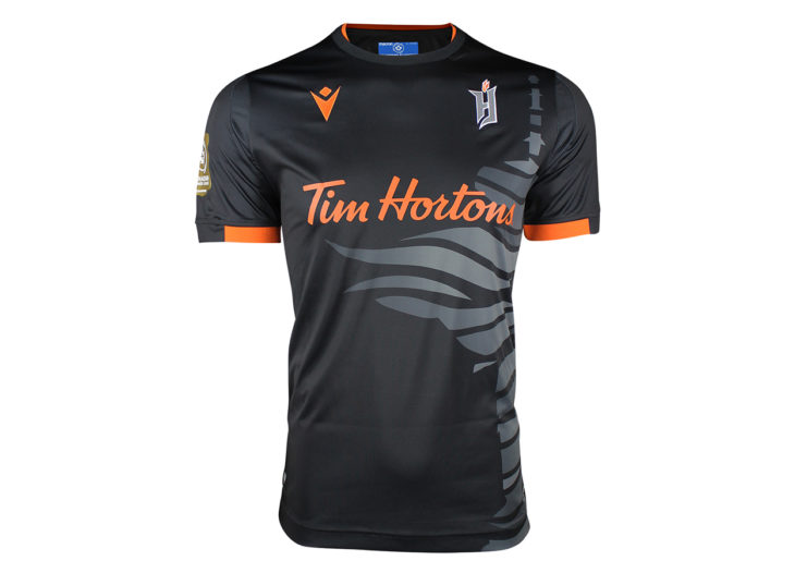 "Forge FC's 2020 ""City Edition"" away kit."