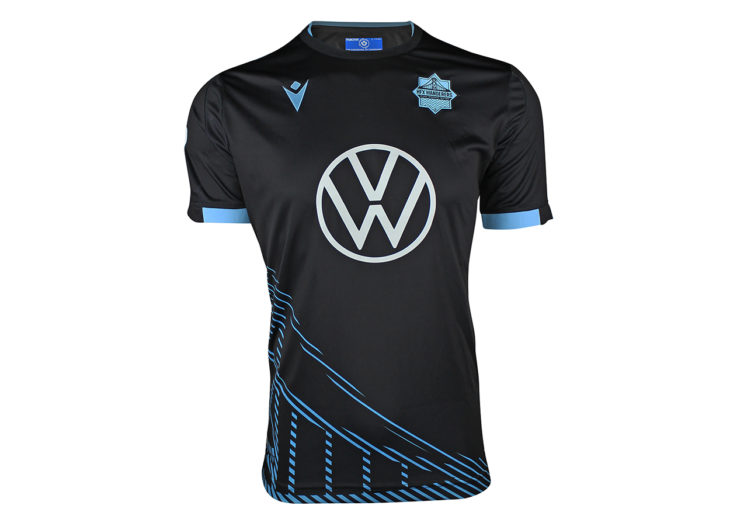 "HFX Wanderers FC's 2020 ""City Edition"" away kit."