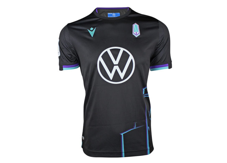 "Pacific FC's 2020 ""City Edition"" away kit."