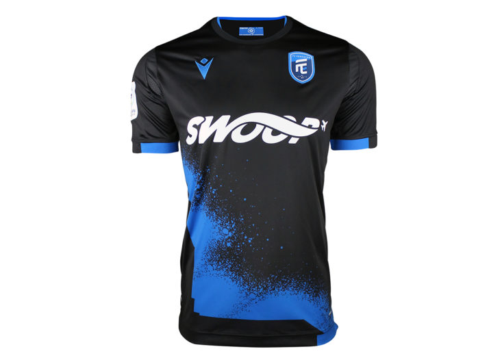 "FC Edmonton's 2020 ""City Edition"" away kit."