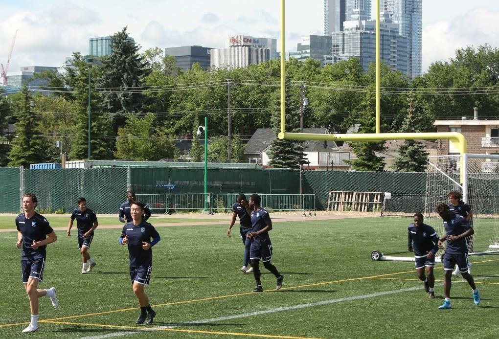 FC Edmonon training. (FC Edmonton)
