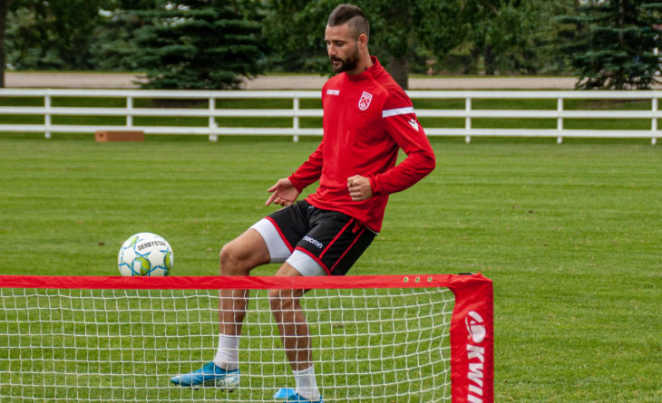 Marcus Haber on Cavalry move: 'Last season didn't go the way I wanted'