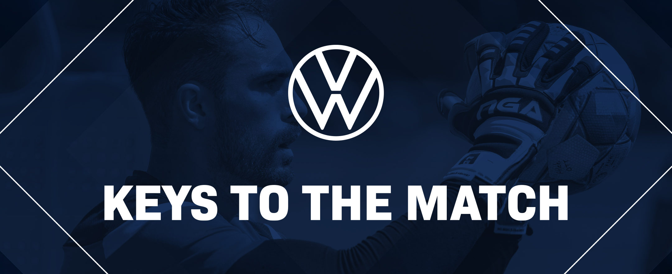 Volkswagen Keys to the Match (presented on OneSoccer before kick-off).