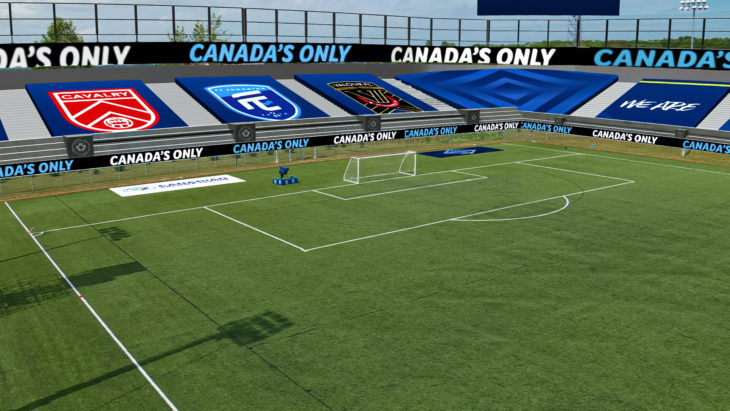 CPL Island Games Virtual Stadium Left
