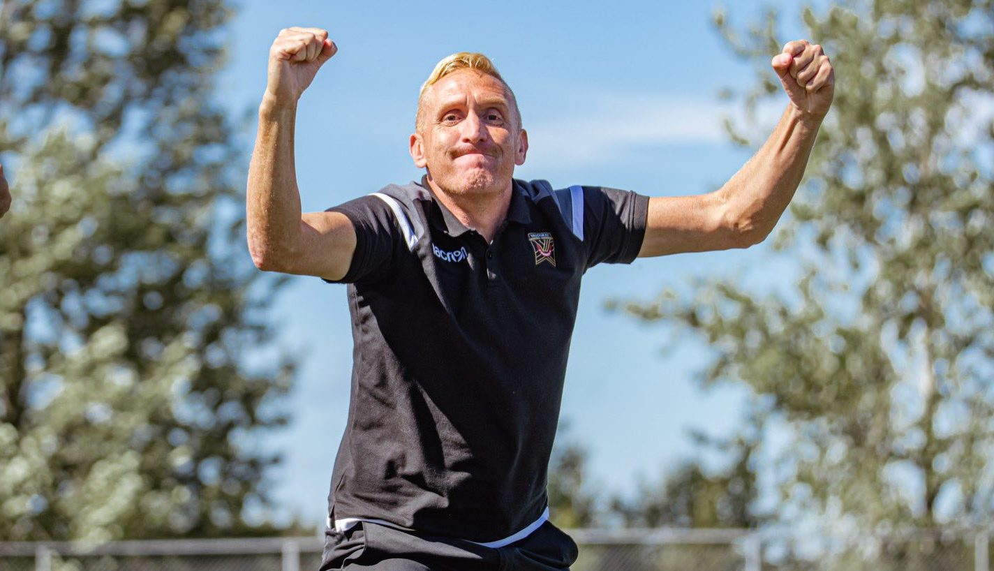 Valour FC coach Rob Gale (Nora Stankovic/OneSoccer)