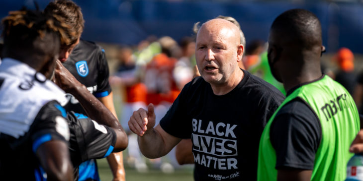 Jeff Paulus stepping down as FC Edmonton head coach, will remain with club